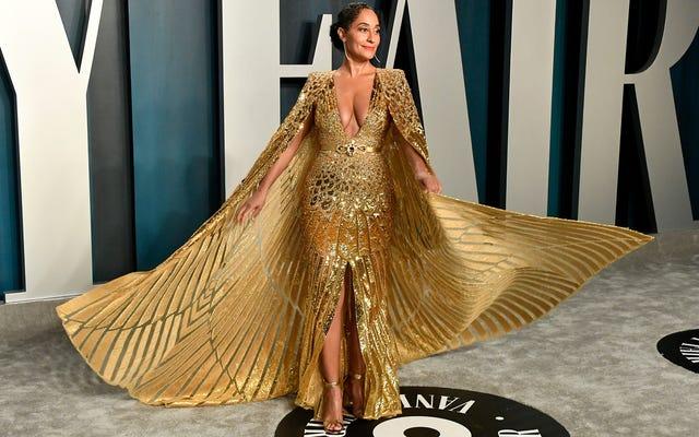 The Stars สวมทองคำและเงินในงาน Oscars Party ประจำปีของ Vanity Fair