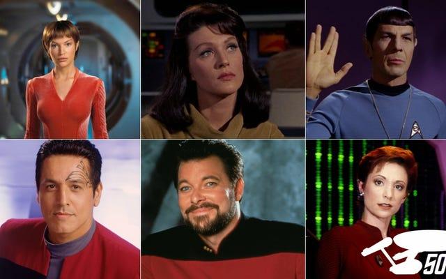 """Krótka historia """"Numerów"""" w Star Trek"""