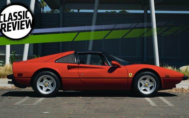 フェラーリ308GTSiは今日運転するのはひどいですが、それは問題ではありません