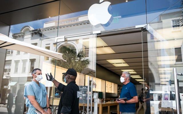 Apple ferme 10% des magasins américains à la suite d'un pic dans les affaires Covid-19