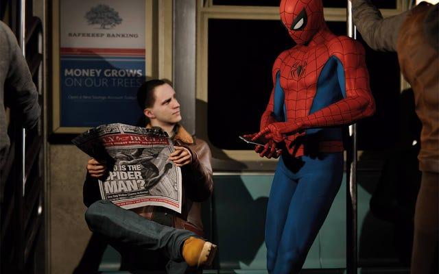 Un aperçu sans spoiler sur les personnages du nouveau jeu Spider-Man