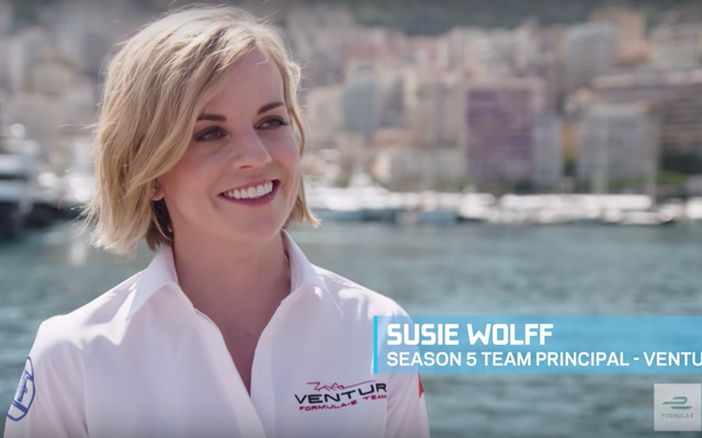 Susie Wolff trở thành Hiệu trưởng Đội nữ đầu tiên giành chiến thắng trong cuộc đua ở Công thức E