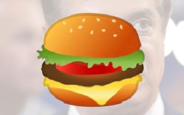 क्या Google ने कभी एक गोड्डम हैम्बर्गर देखा है?
