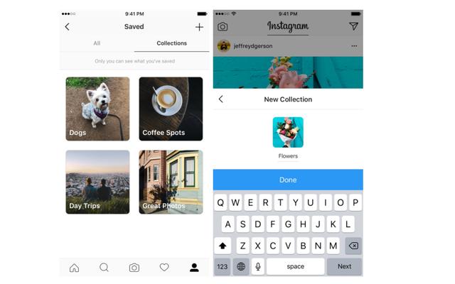 Instagramはブックマークされた投稿を整理するのに役立つコレクションを追加します