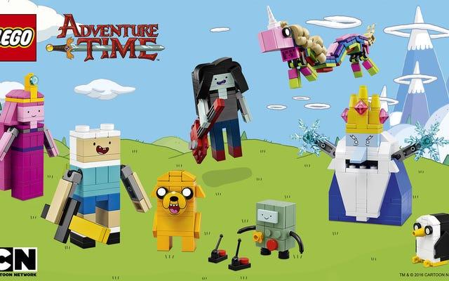 レゴの今後のアドベンチャータイムセットを初めて見たところ、いくつかのキャラクターが欠けています