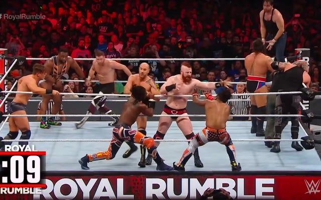 วิธีปรับปรุงพูลผู้ชนะ Royal Rumble