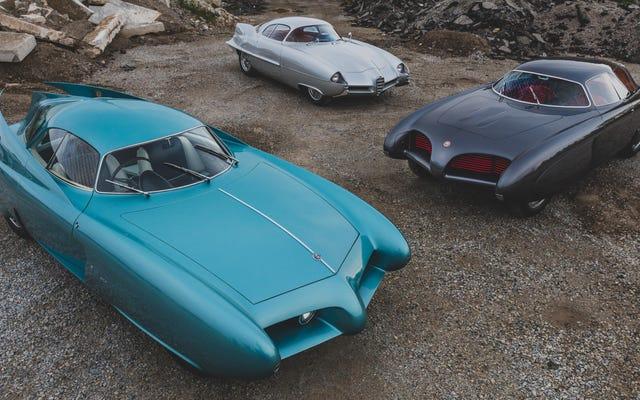 Los prototipos del estudio aerodinámico de Alfa Romeo Bertone se venden en una subasta por 14,8 millones de dólares