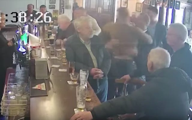 Conor McGregor Sucker-Punches Old Man After Whisky Argument In Dublin Pub