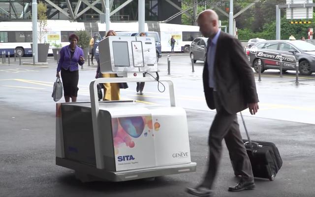 Этот робот-обработчик багажа даст вам еще больше времени, чтобы простоять в очереди TSA