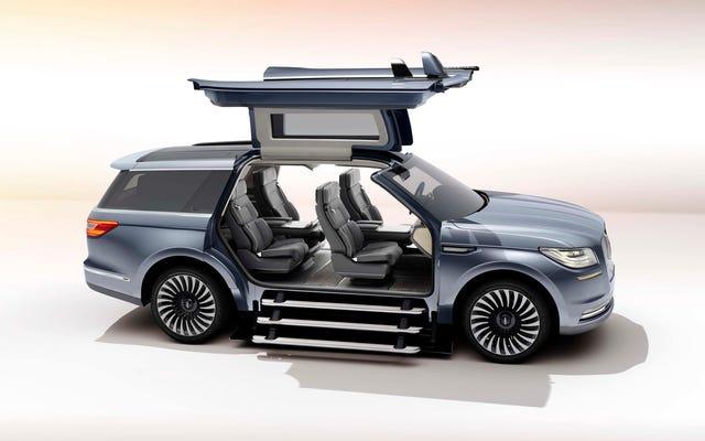Le concept Lincoln Navigator 2018: est-ce mais pourquoi?