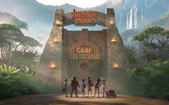 La irresponsabilidad de Jurassic World está viva y coleando en Camp Cretaceous