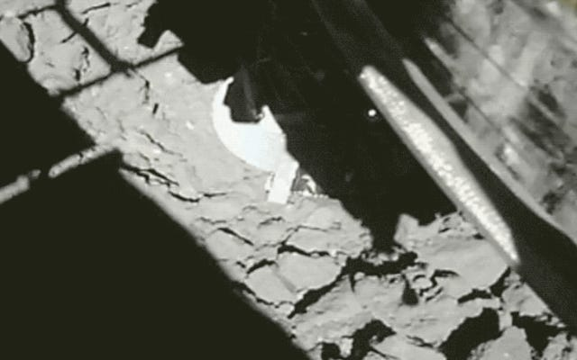 C'est à quel point la deuxième approche de la sonde Hayabusa2 a été spectaculaire sur l'astéroïde Ryugu