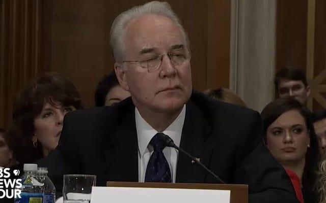 देखें सेन माइकल बेनेट व्याख्यान एक हिला हुआ प्रतिनिधि टॉम मूल्य GOP स्वास्थ्य देखभाल पाखंड के बारे में