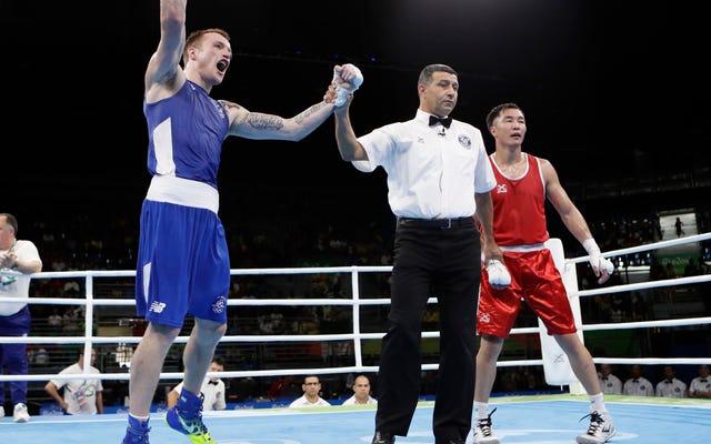アイルランドのオリンピックボクサーは負けるために自分自身に賭け、勝ちました
