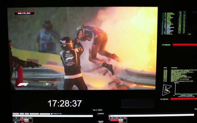 Przerażający krach Romaina Grosjeana jest dowodem na to, że aureola była tego warta