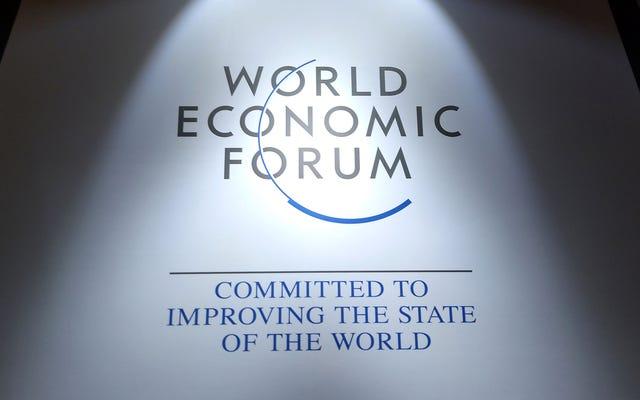 विश्व आर्थिक मंच की एक समयरेखा