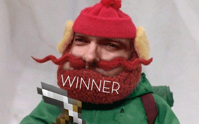Concurso da loja Kotaku: Traga a barba de volta: vencedores!