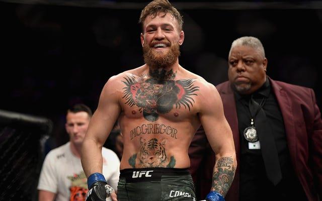 Tutto quello che è successo dopo il combattimento è stato fantastico per Conor McGregor