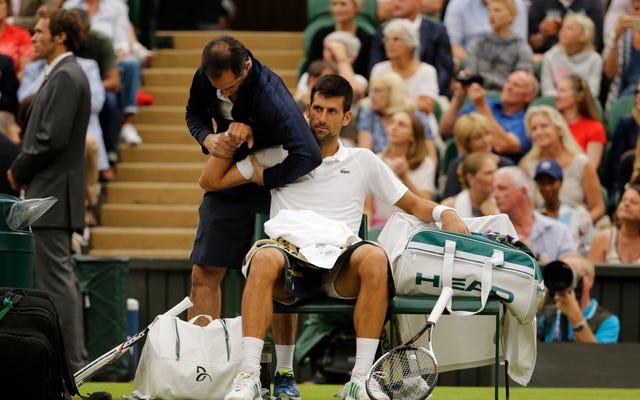 Novak Djokovic prawdopodobnie przegapi US Open z powodu siniaka kości