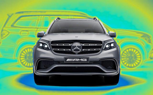 2017 Mercedes GLS63 AMG Hakkında Bilmek Ne İstiyorsunuz?