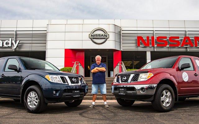 Milyon Millik Nissan Frontier, 13 Yıl Sonra Neredeyse Aynı Kamyon İçin Alım Satım Yaptı