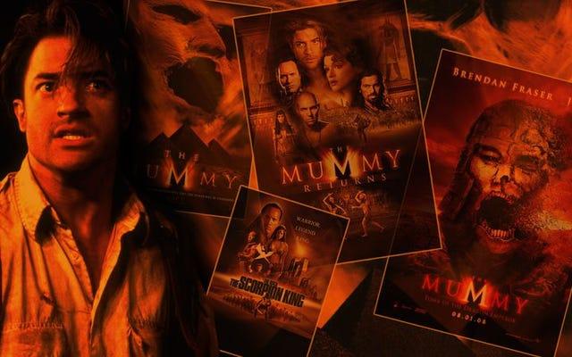 ミイラは2つの異なるシリーズでB級映画の宝物を探しました