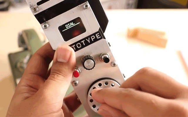 Vos grands-parents vont adorer ce téléphone portable rotatif