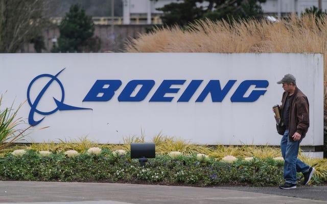 ボーイングのCEOが737MAXの災害をきっかけに「すぐに発効」を辞任