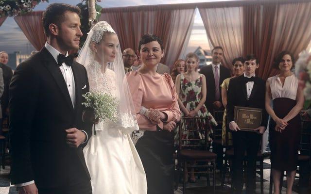 Once Upon A Time celebra la boda de Hook y Emma con un episodio musical