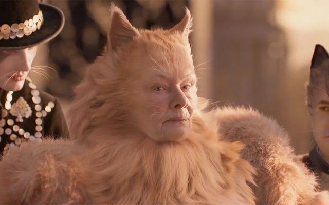 Poświęćmy chwilę, aby zastanowić się nad wielkością (lub czymkolwiek jest) Judi Dench w Cats
