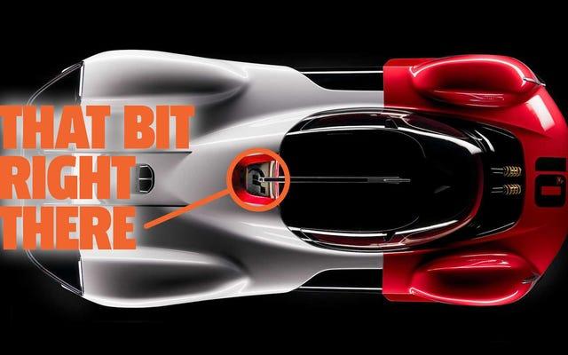 Ce concept Porsche avec un logo Gran Turismo ne vient pas dans Gran Turismo