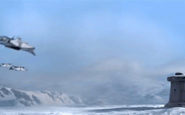 Beginilah cara Battle of Hoth berevolusi lebih dari 30 tahun video game
