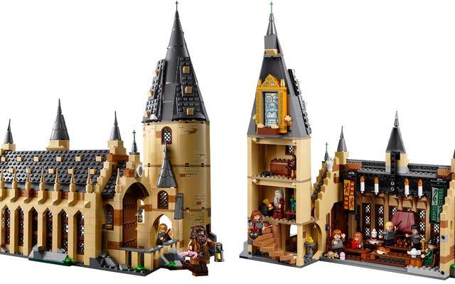 レゴの新しいホグワーツ魔法魔術学校の大ホールセットが魔法のように私の財布を排水します