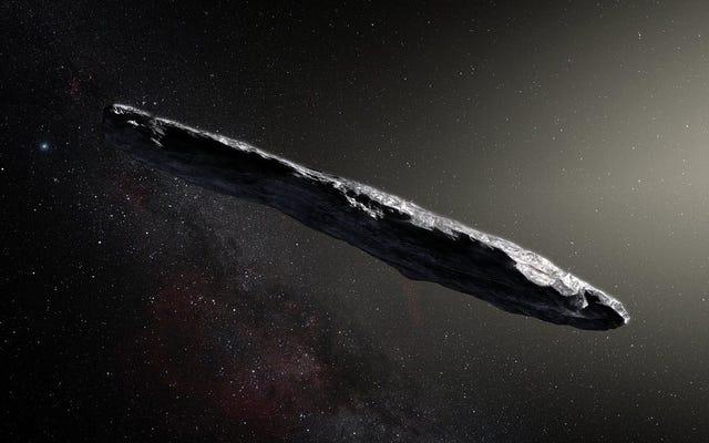 彼らは初めて星間小惑星を観察します(そしてそれは私たちが今まで見たことがないように見えます)