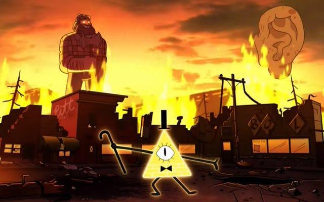 Telewizja z tego tygodnia: Gravity Falls kończy się wraz z nadejściem dziwnego magedonu!