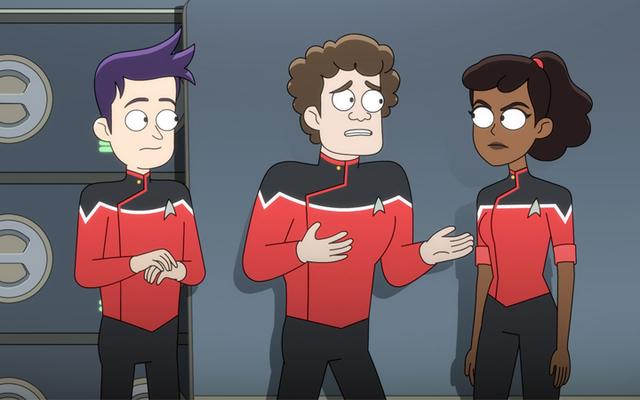 Di Star Trek: Dek Bawah, Kami Akhirnya Bertemu Ensign Yang Sebenarnya Menyebalkan pada Pekerjaan Mereka