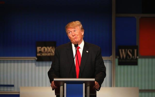 世論調査:ドナルド・トランプは1パーセントの黒人投票者の支持を持っています