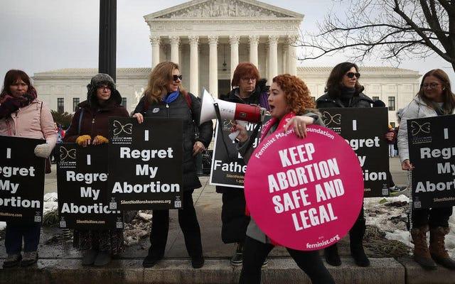 トランプの保守的な選択がどのように投票するかをテストすることが期待されるものでルイジアナ州の堕胎法を検討する最高裁判所