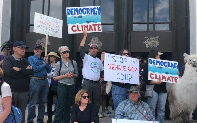 オレゴンの気候変動法案の終焉の物語は本当にワイルドです