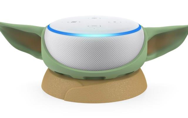 Keluarkan Otak Bayi Yoda dan Ganti Dengan Amazon Echo Dot