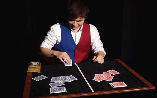 世界魔法選手権の勝利のトリックはあなたを6分間口を開いたままにします