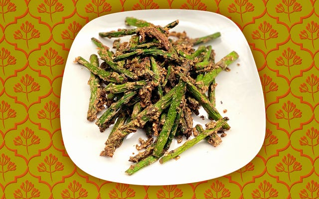 L'asparago al cumino del Sichuan è una testimonianza della potenza di una friggitrice ad aria