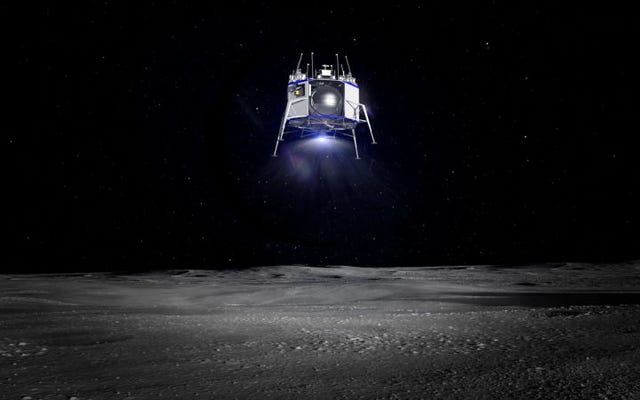 ジェフベゾスは、月を征服する運命にある車両であるブルームーン船を明らかにします