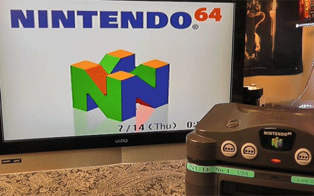 Un disque dur Nintendo 64 incroyablement rare découvert par un homme très chanceux de Seattle