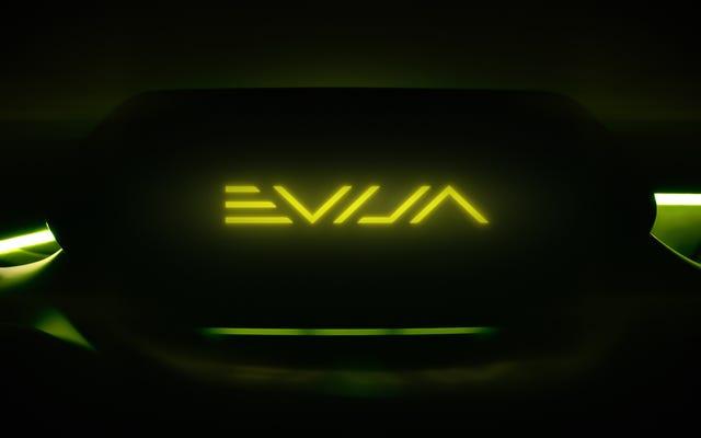 De quelle langue est le Lotus Evija?