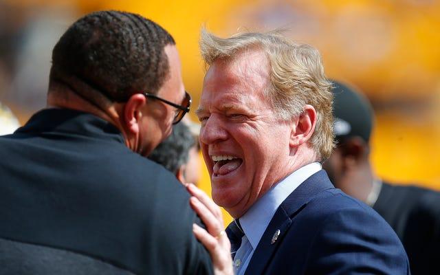 レポート:NFLアンセムの抗議がロジャーグッデルの契約延長をめちゃくちゃにしている