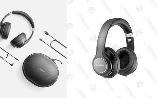 Hemat $ 35 Untuk Sepasang Headphone Nirkabel Anker Over-Ear, Sekarang Juga