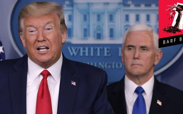 Trump essaie un certain racisme asiatique - vous savez, pour la saveur