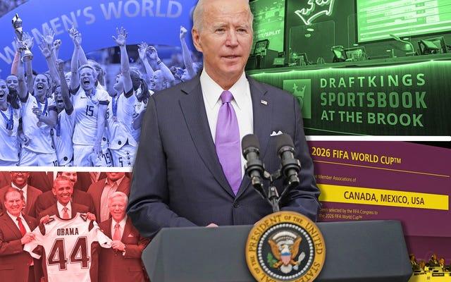 ホワイトハウスの訪問からNCAA改革まで、スポーツはジョーバイデン政権に何を期待すべきでしょうか。