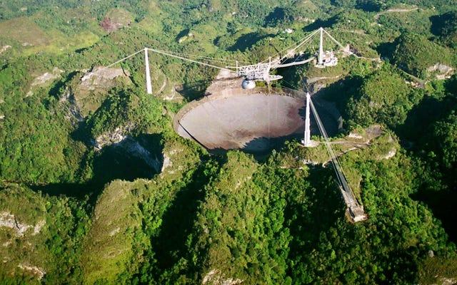 米国政府がハリケーンに襲われたプエルトリコ望遠鏡への資金提供を継続